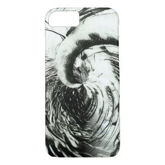 Funda Para iPhone 8/7 Caja blanco y negro desechada del teléfono del