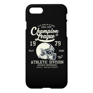 Funda Para iPhone 8/7 Caja brillante del teléfono de la liga del campeón
