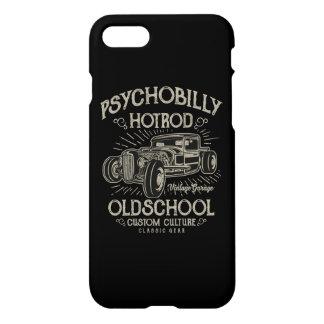 Funda Para iPhone 8/7 Caja brillante del teléfono de PsychoBilly HotRod