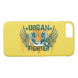 Funda Para iPhone 8/7 Caja brillante del teléfono del combatiente urbano