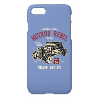 Funda Para iPhone 8/7 Caja brillante rebelde del teléfono de Hotrod
