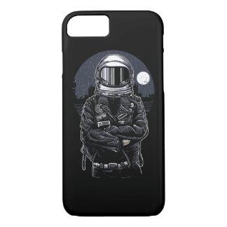 Funda Para iPhone 8/7 Caja brillante rebelde del teléfono del astronauta