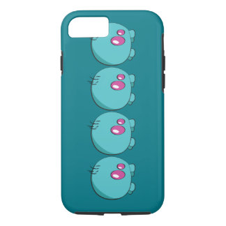 Funda Para iPhone 8/7 Caja ciánica del teléfono de Pogo O.o