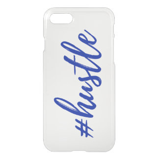 Funda Para iPhone 8/7 Caja clara del teléfono del #Hustle