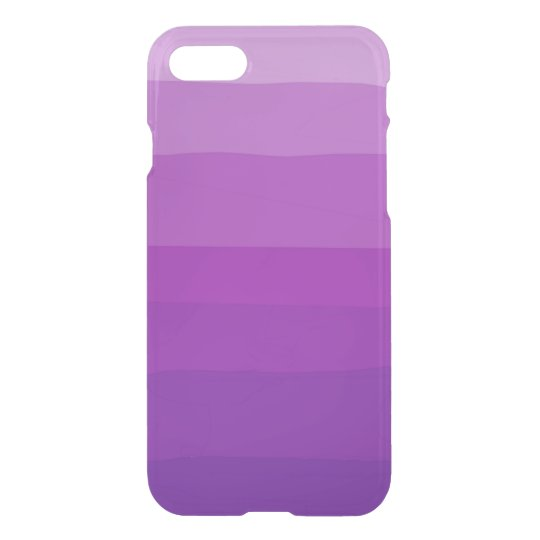 Funda Para iPhone 8/7 Caja clara púrpura del iPhone de Ombre