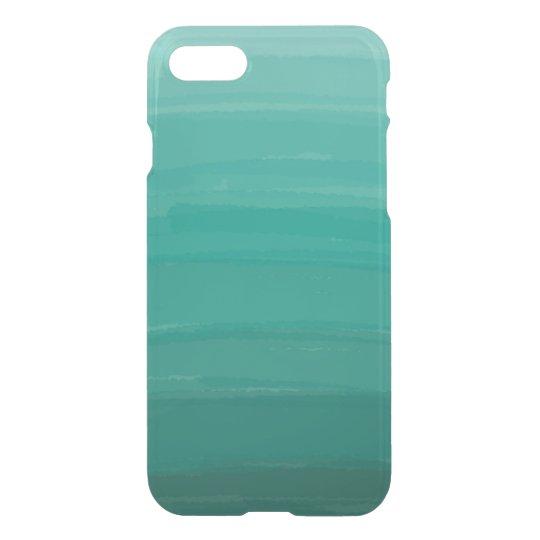 Funda Para iPhone 8/7 Caja clara verde del iPhone de Ombre