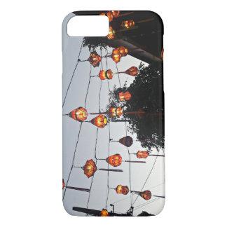 Funda Para iPhone 8/7 Caja coloreada del teléfono de las linternas