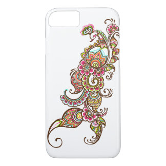 Funda Para iPhone 8/7 caja colorida del iPhone 7 del pavo real