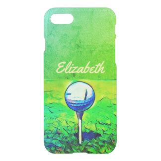 Funda Para iPhone 8/7 Caja conocida Golfing colorida de los deportes