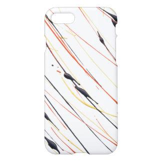 Funda Para iPhone 8/7 Caja de cuero llameante del teléfono de la