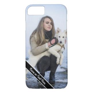 Funda Para iPhone 8/7 Caja de encargo del teléfono de la foto del perro