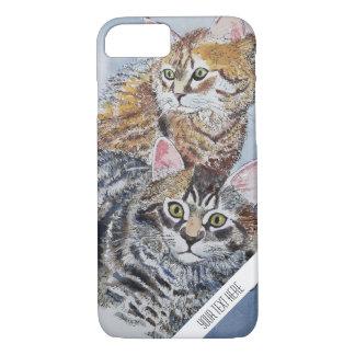 Funda Para iPhone 8/7 Caja de encargo del teléfono de los gatos de la
