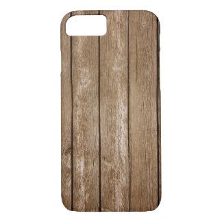 Funda Para iPhone 8/7 Caja de madera del teléfono
