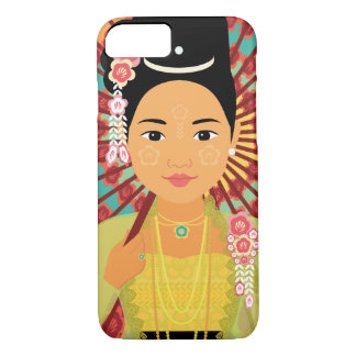 Funda Para iPhone 8/7 Caja de Myanmar Matryoshka del birmano