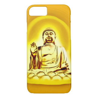 Funda Para iPhone 8/7 Caja de oro del iPhone 7 del arte del aerógrafo de