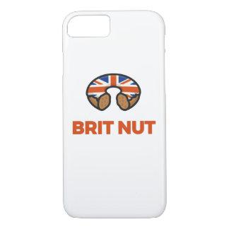 Funda Para iPhone 8/7 Caja del buñuelo de la nuez del británico