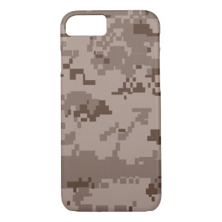 Funda Para iPhone 8/7 Caja del camuflaje iPhone7 del desierto del Cuerpo