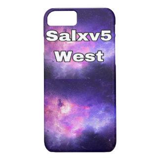 Funda Para iPhone 8/7 caja del oeste del teléfono de salxv5 Iphone 7