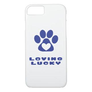 Funda Para iPhone 8/7 Caja del teléfono - amor afortunado