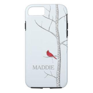 Funda Para iPhone 8/7 Caja del teléfono celular del árbol de abedul del