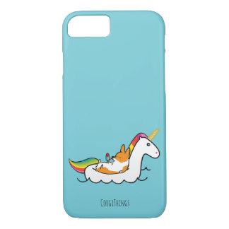 Funda Para iPhone 8/7 Caja del teléfono de Floatie del unicornio del