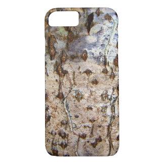 Funda Para iPhone 8/7 Caja del teléfono de la corteza de árbol de abedul