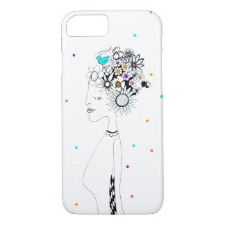 Funda Para iPhone 8/7 Caja del teléfono de la floración
