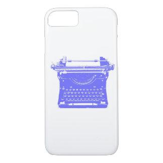 Funda Para iPhone 8/7 Caja del teléfono de la máquina de escribir