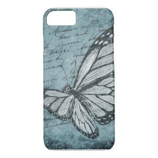 Funda Para iPhone 8/7 Caja del teléfono de la mariposa del vintage
