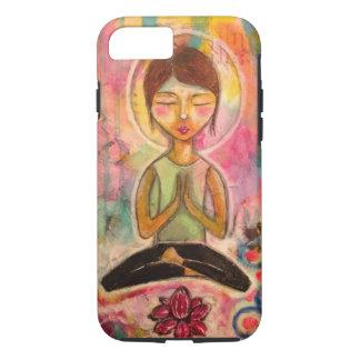 """Funda Para iPhone 8/7 """"Caja del teléfono de la meditación de Jeanette"""
