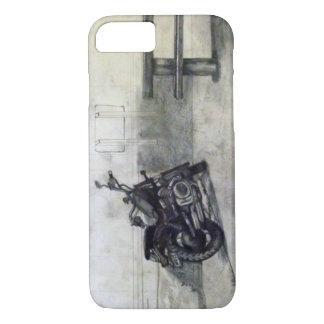 Funda Para iPhone 8/7 Caja del teléfono de la motocicleta