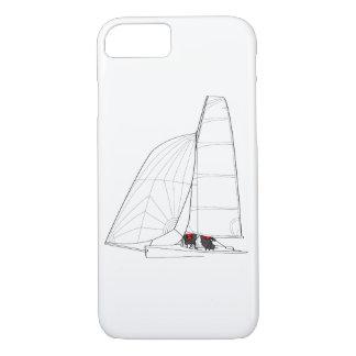 Funda Para iPhone 8/7 Caja del teléfono de la navegación del bote
