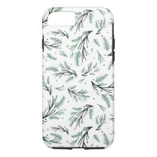 Funda Para iPhone 8/7 Caja del teléfono de la rama del pino