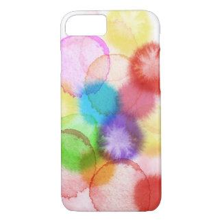 Funda Para iPhone 8/7 Caja del teléfono de la salpicadura de la pintura