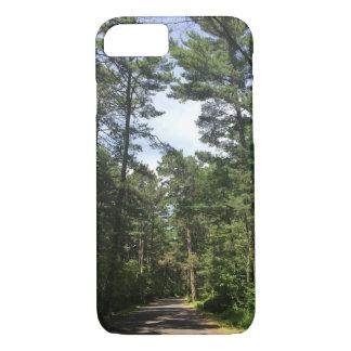 Funda Para iPhone 8/7 Caja del teléfono de la trayectoria de bosque