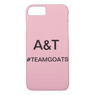 Funda Para iPhone 8/7 Caja del teléfono de las cabras del equipo de A&T