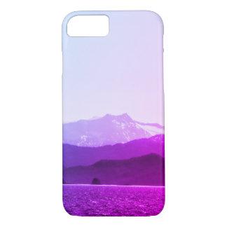 Funda Para iPhone 8/7 Caja del teléfono de las montañas púrpuras