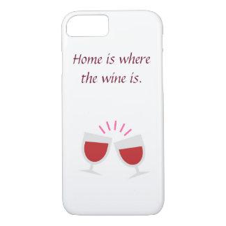 Funda Para iPhone 8/7 Caja del teléfono de los amantes del vino