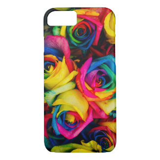 Funda Para iPhone 8/7 Caja del teléfono de los rosas del arco iris