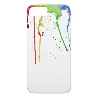 Funda Para iPhone 8/7 Caja del teléfono del arco iris de la acuarela