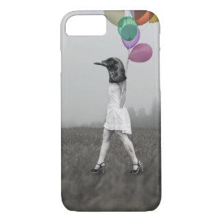 Funda Para iPhone 8/7 Caja del teléfono del chica del cuervo