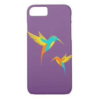 Funda Para iPhone 8/7 Caja del teléfono del colibrí