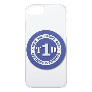 Funda Para iPhone 8/7 Caja del teléfono del escudo de la diabetes del