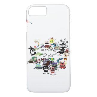Funda Para iPhone 8/7 Caja del teléfono del estilo del monstruo