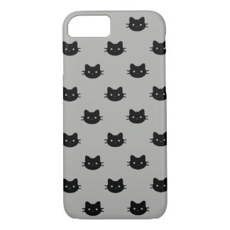 Funda Para iPhone 8/7 Caja del teléfono del gato negro