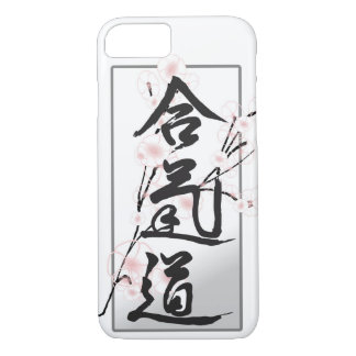Funda Para iPhone 8/7 Caja del teléfono del kanji del Aikido