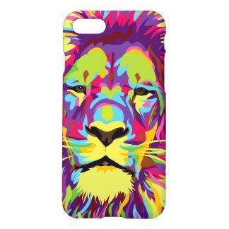 Funda Para iPhone 8/7 Caja del teléfono del león del arco iris