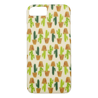Funda Para iPhone 8/7 Caja del teléfono del modelo de los cactus
