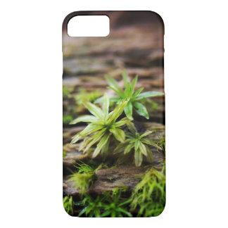 Funda Para iPhone 8/7 Caja del teléfono del musgo, fotografía macra de
