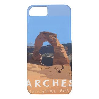 Funda Para iPhone 8/7 Caja del teléfono del parque nacional de los arcos
